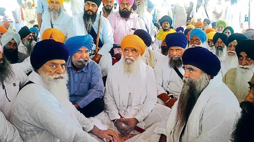 Damdami Taksal,Muslim group,Bargari protest