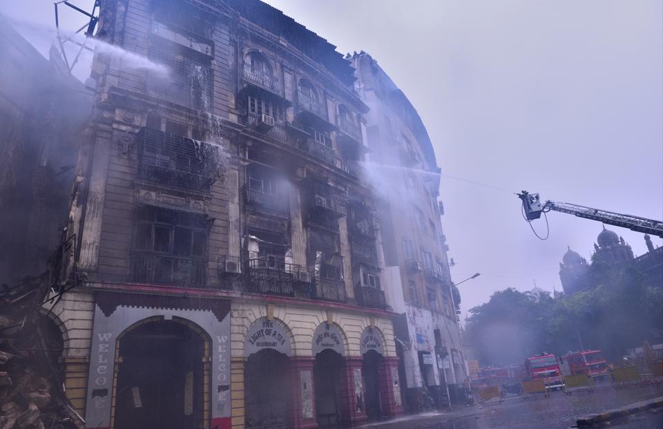 Kothari Mansion,Mumbai fire,Fort area