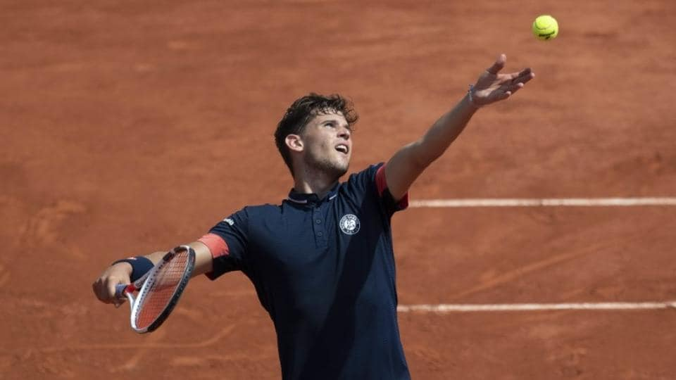 Dominic Thiem defeated Marco Cecchinato to set-up a clash with Nadal./ (Susan Mullane-USA TODAY Sports)