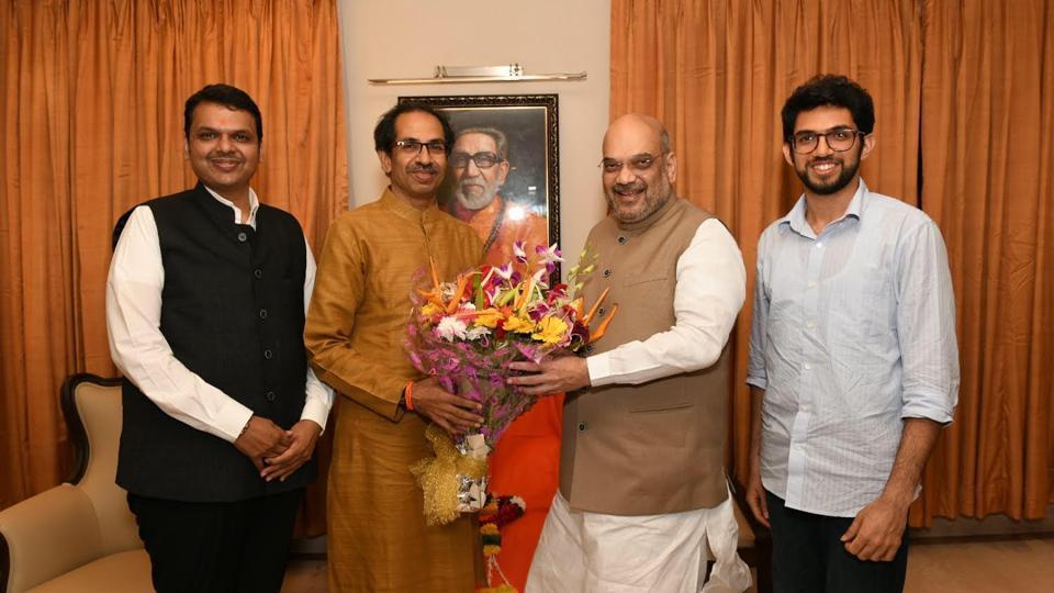 Amit Shah,BJP,Shiv Sena