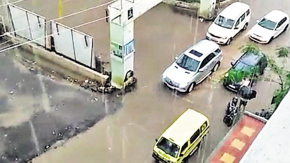 Pune,Wagholi,Waterlogging