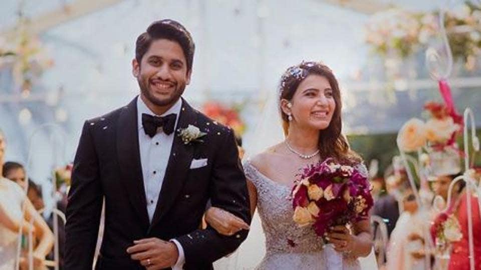 Samantha Akkineni Naga Chaitanya Wedding