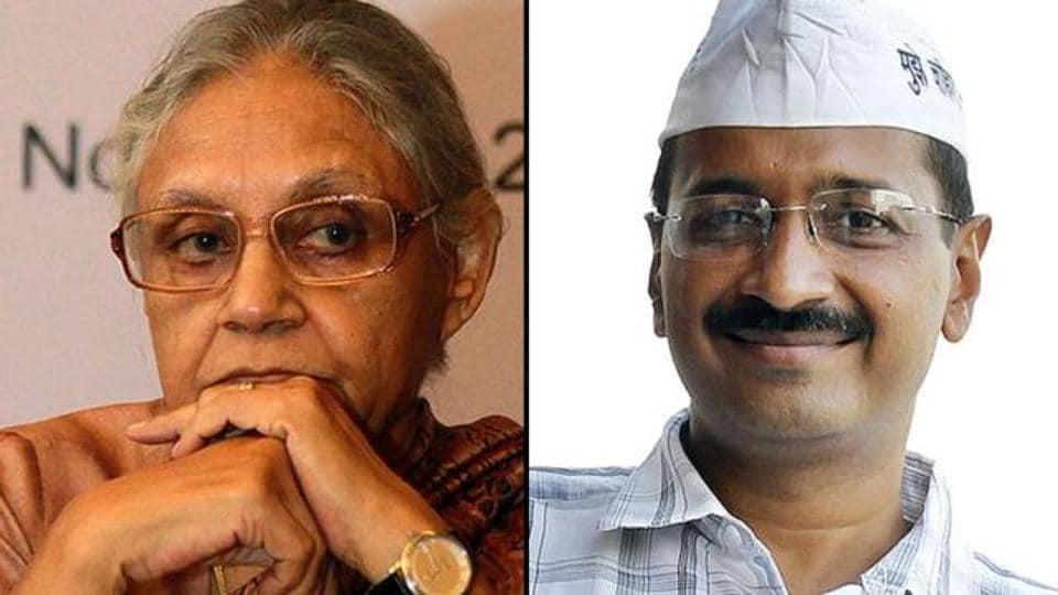 Sheila Dikshit,Arvind Kejriwal,PM Modi