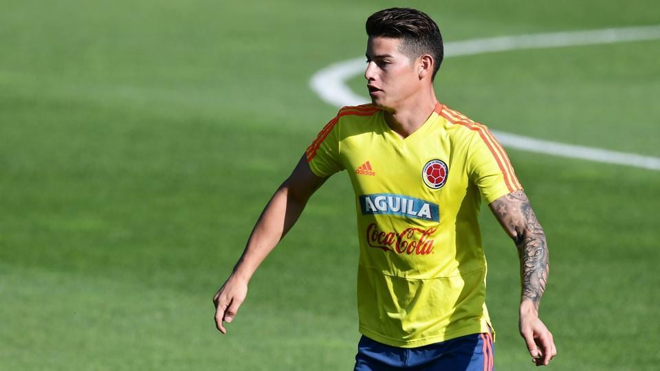 Colombias Midfielder James Rodriguez Finished The Club Season With Eight Goals And 13 Assists Across All