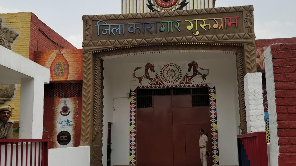 A general view of the Bhondsi jail in Gurugram.