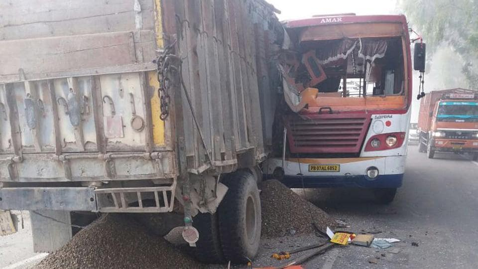Road accident,Uttar Pradesh,Bulandshahr district