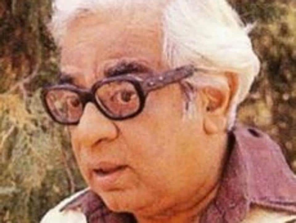 Renowned writer and humourist Purushottam Lakshman Deshpande.