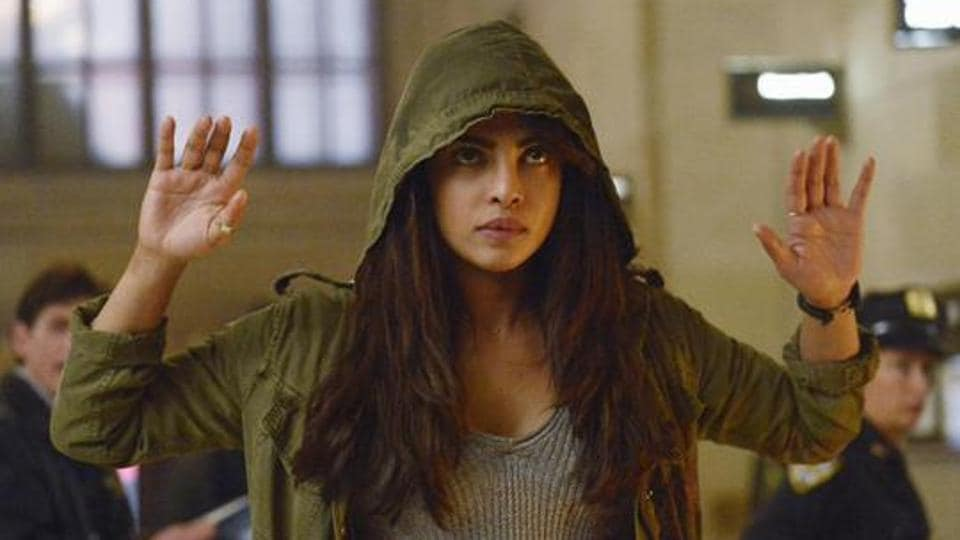 Priyanka Chopra's plays the central character named Alex Parrish in American TV series Quantico.