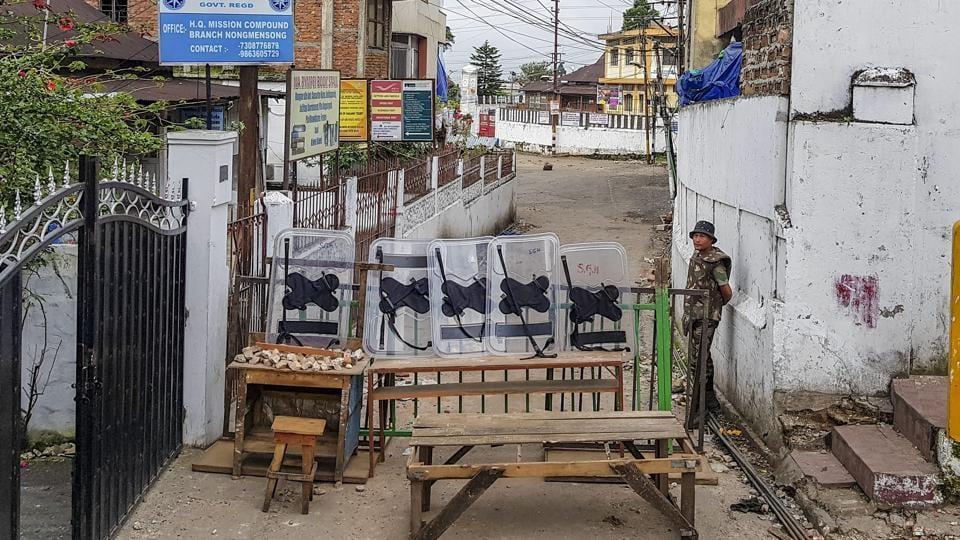 Shillong,Shillong violence,Shillong curfew