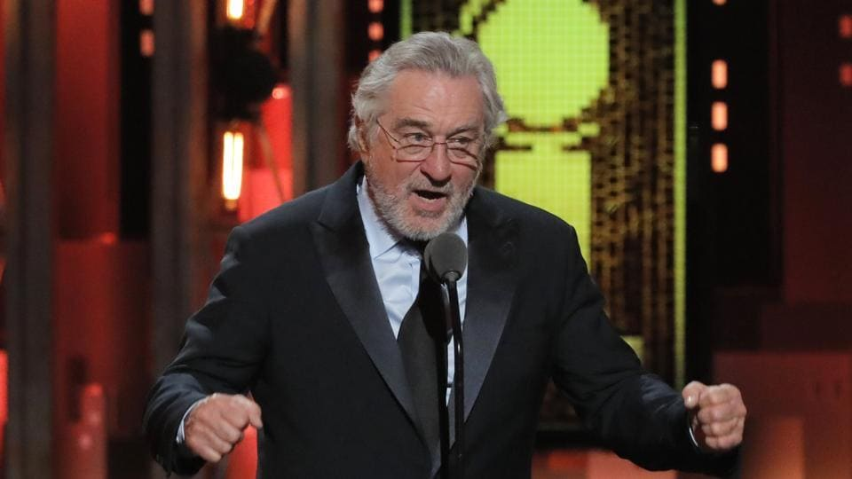 Robert De Niro,Donald Trump,Robert De Niro Tony Awards