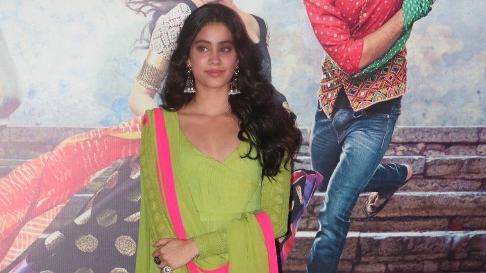 Janhvi Kapoor, daughter of the late screen icon Sridevi, will make her film debut with Dhadak, a remake of Marathi film Sairat. (Viral Bhayani)