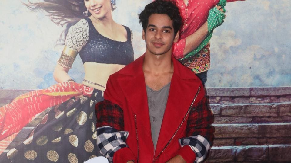 Ishaan Khatter made his movie debut in the recent Majid Majidi film, Beyond the Clouds. Dhadak is his first Bollywood film. (Viral Bhayani)