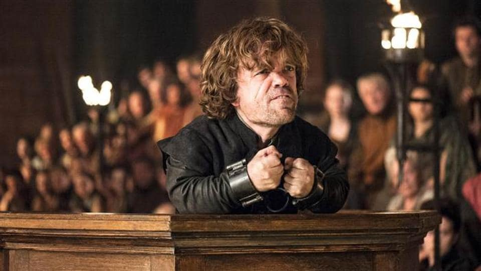 Tyrion Lannister will not die for the murder of Joffrey. He demands a trial by combat.
