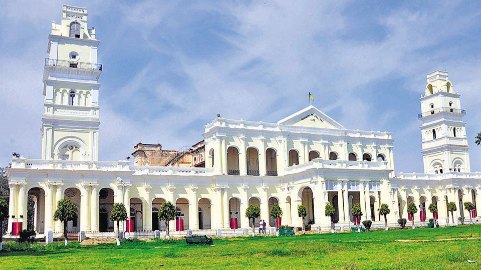 Established in 1875, Government Mohindra College, Patiala, is the oldest institution of contemporary learning in north India. The grand colonial structure, shaped like an 'M' in honour of its founder Maharaja Mohinder Singh, is a blend of oriental and occidental architecture. It is said that it cost Rs 9 lakh and took state masons and jail labour nine years to build.