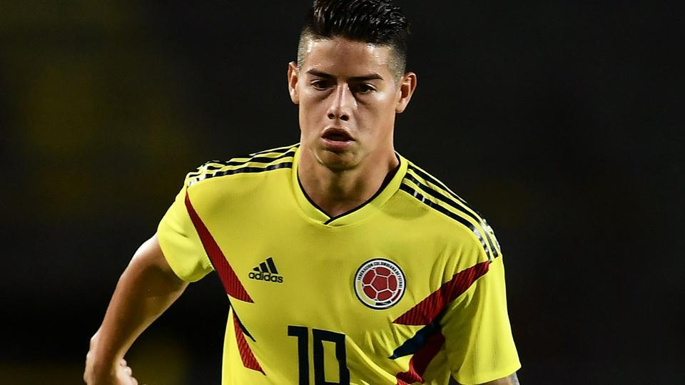 James Rodriguez (in pic) won the Golden Boot four years ago and his partnership with Radamel Falcao will be key to Colombia's hopes this time round.