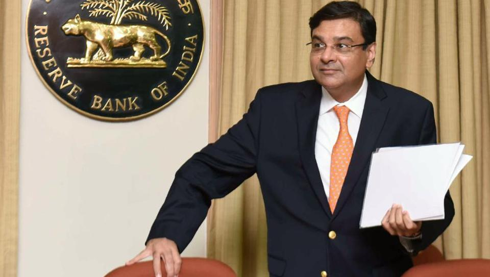 Reserve Bank of India (RBI) Governor Urjit Patel arrives for a news conference at the bank's head office in Mumbai on June 6, 2018.
