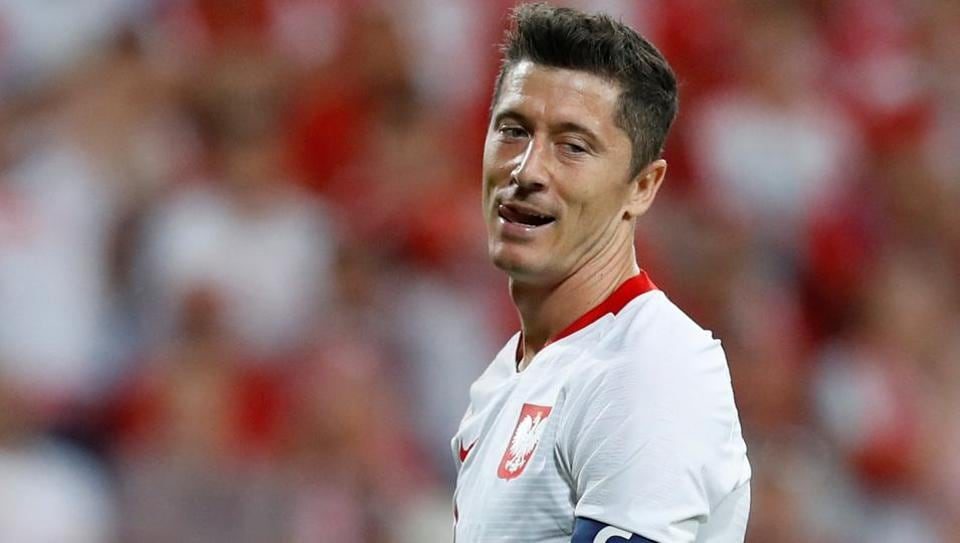 Robert Lewandowski is an imposing forward who is equally good with his head as well as his feet.