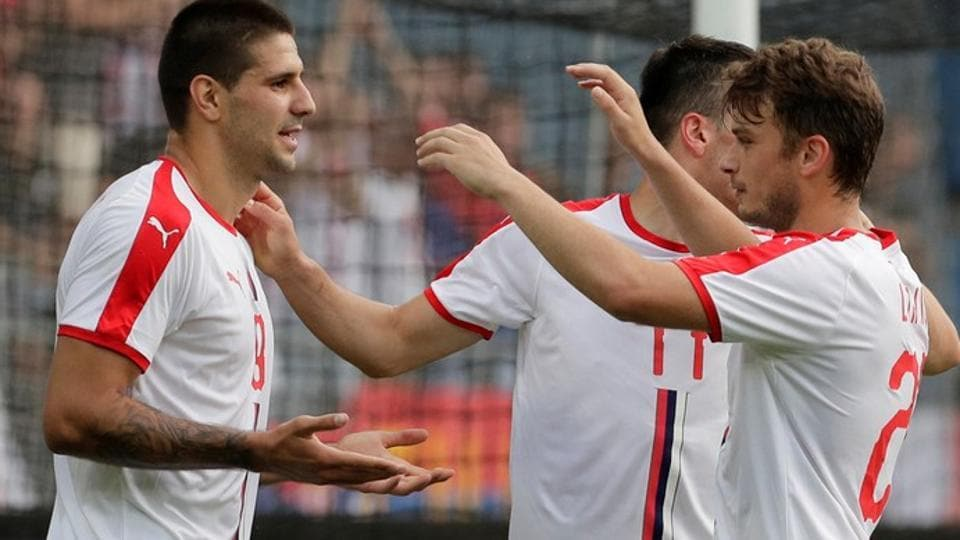 Serbia are placed in Group E alongside Brazil, Costa Rica and Switzerland in the FIFAWorld Cup 2018.