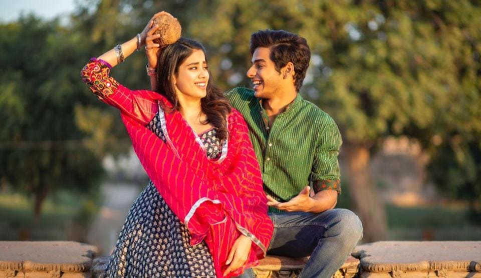 Image result for dhadak movie stills