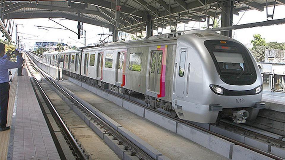 The Mumbai Metro.