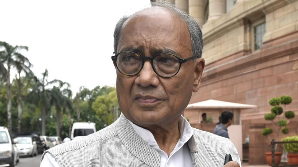 Congress leader Digvijaya Singh had tweeted a picture of a bridge in Pakistan and claimed it to be a railway bridge in Bhopal.