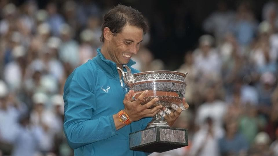 Rafael Nadal continued his historic run in the French Open as he defeated Dominic Thiem to secure the title at Roland Garros for an unprecedented 11th time.  (Susan Mullane-USA TODAY Sports)