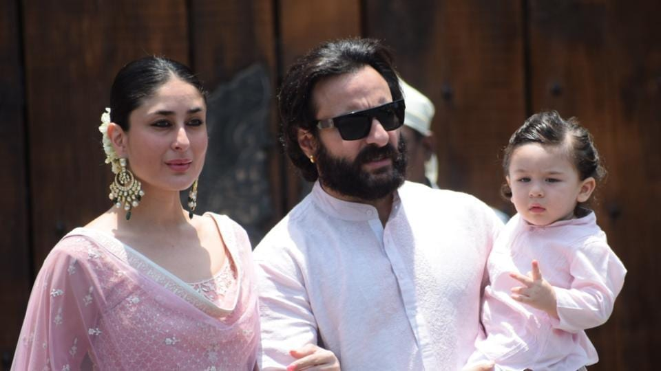 Kareena Kapoor Khan,Saif Ali Khan,Taimur