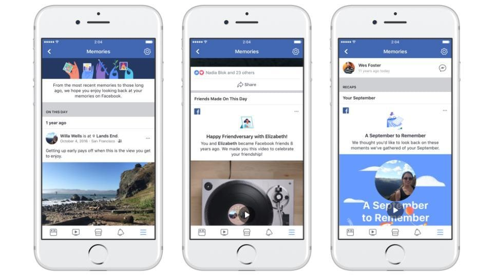 Facebook Memories will be available for users on the desktop version and mobile apps.