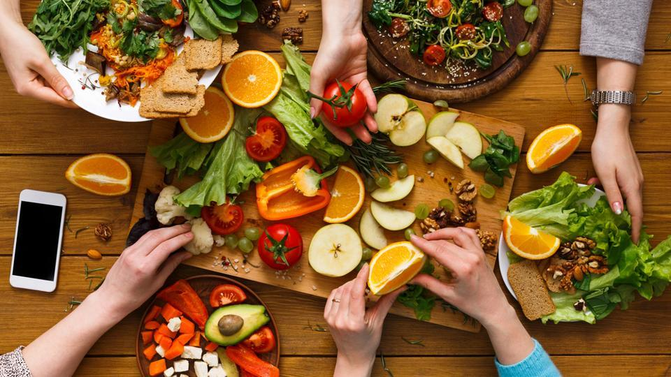 The programme's vegan diet consisted of foods, such as legumes, vegetables, fruits, nuts, seeds, olives, avocados, soy milk, almond milk and whole-grain breads.