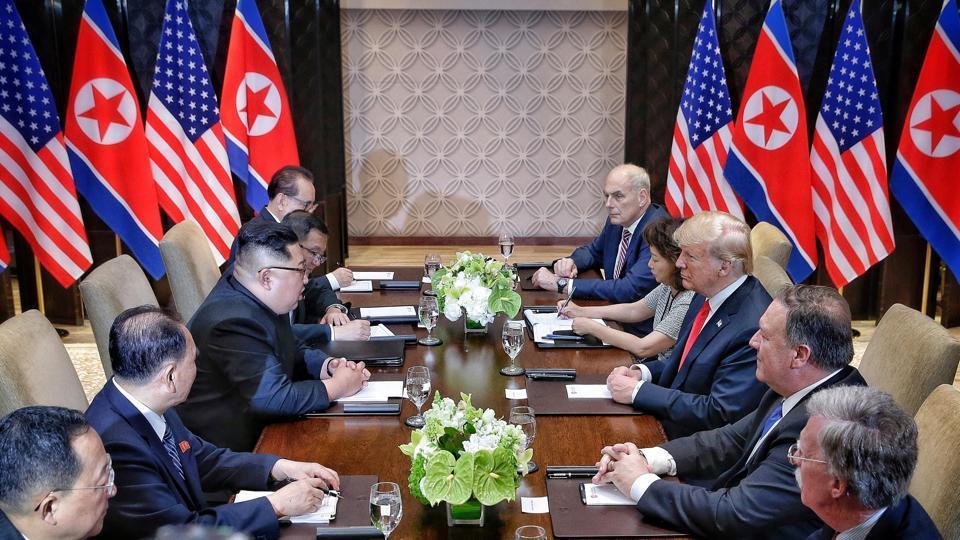 Donald Trump,North Korea,Denuclearise