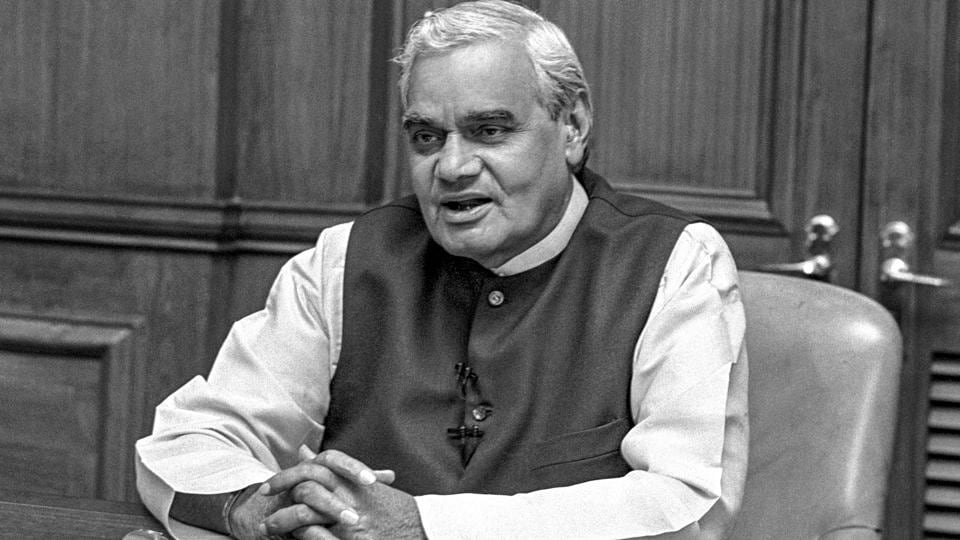 "Former Prime Minister Atal Bihari Vajpayee is stable and will remain hospitalised till his infection is controlled, Delhi's All India Institute of Medical Sciences (AIIMS) said on Tuesday. Vajpayee, 93, was admitted to AIIMS for a urinary tract infection Monday and is under ""investigation and evaluation"". (PTI File)"