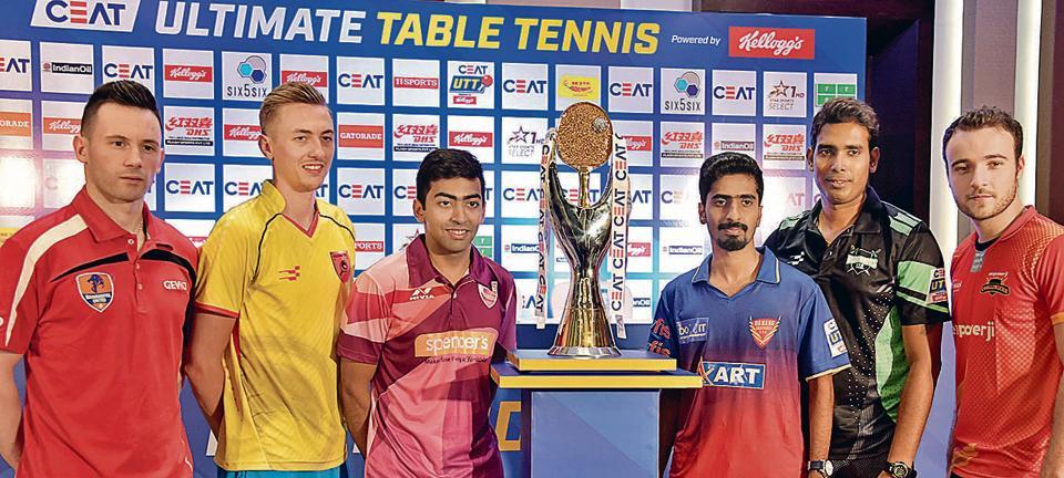 Pune,Ultimate Table Tennis League,2018