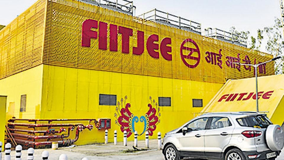 general view of IIT Metro station displaying the name of Fiitkee along with it at IIT in New Delhi, India, on Saturday, May 26, 2018.