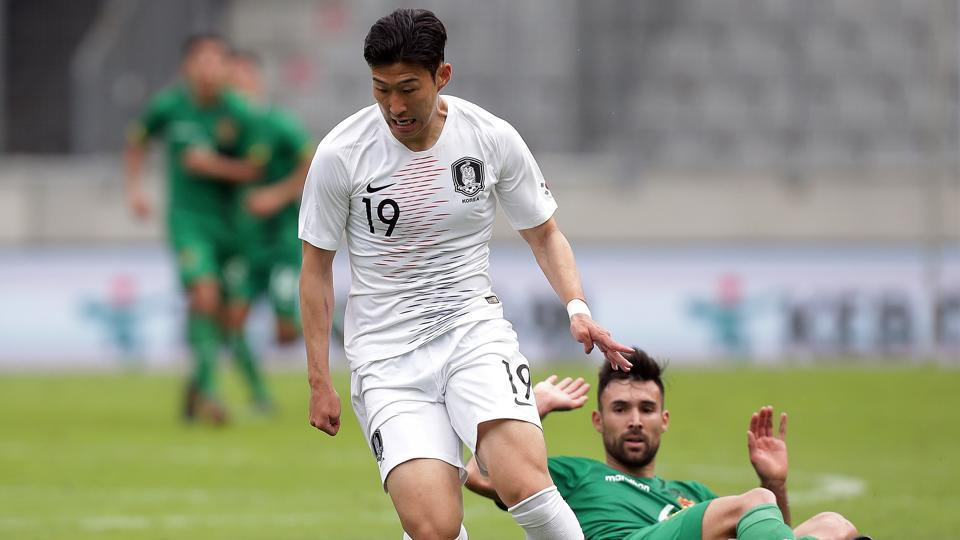 FIFAWorld Cup 2018,FIFAWorld Cup,Son Heung-min