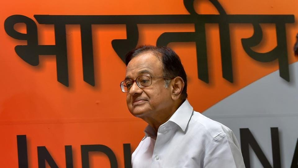 Former finance minister P Chidambaram on Tuesday appeared before the Enforcement Directorate for the second round of questioning in the Aircel-Maxis money laundering case, officials said. The case pertains to grant of Foreign Investment Promotion Board clearance to firm M/S Global Communication Holding Services Ltd in 2006 for investment in Aircel. (PTI  File)