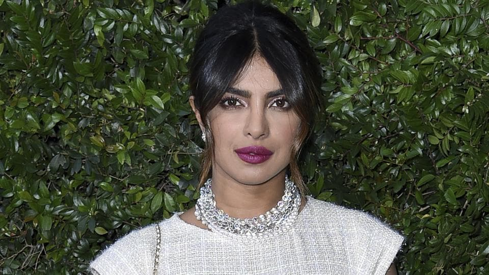 Priyanka Chopra attends Chanel and NRDC Host Dinner to Celebrate Our Majestic Oceans on Saturday.