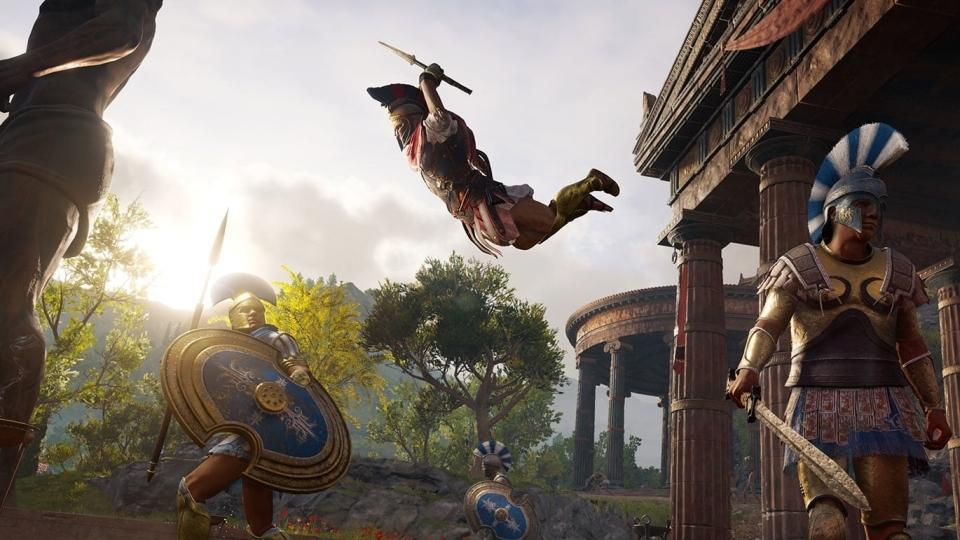 Assassins Creed Odyssey Announced At E3 2018 Heres The First