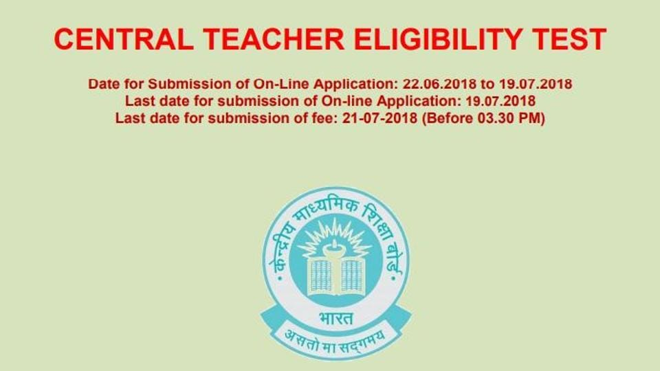 CTET notification 2018: Aspirants are advised to download the bulletin and read it carefully before applying online.