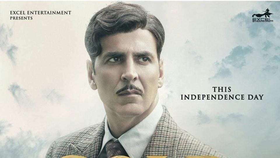 Akshhay Kumar on a new poster of Gold.
