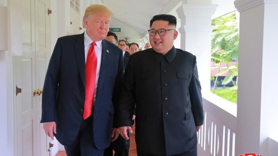 Kim Jong Un,Donald Trump,Trump-Kim Summit