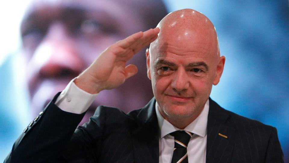 FIFA,Gianni Infantino,FIFA World Cup 2018