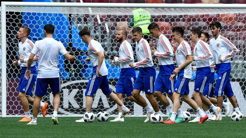 Russia will face Saudi Arabia in the first match of the FIFAWorld Cup 2018 in Moscow on Thursday.