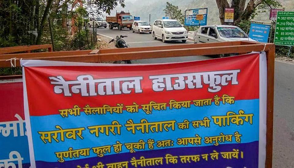 Nainital houseful,Nainital tourism,Parking woes