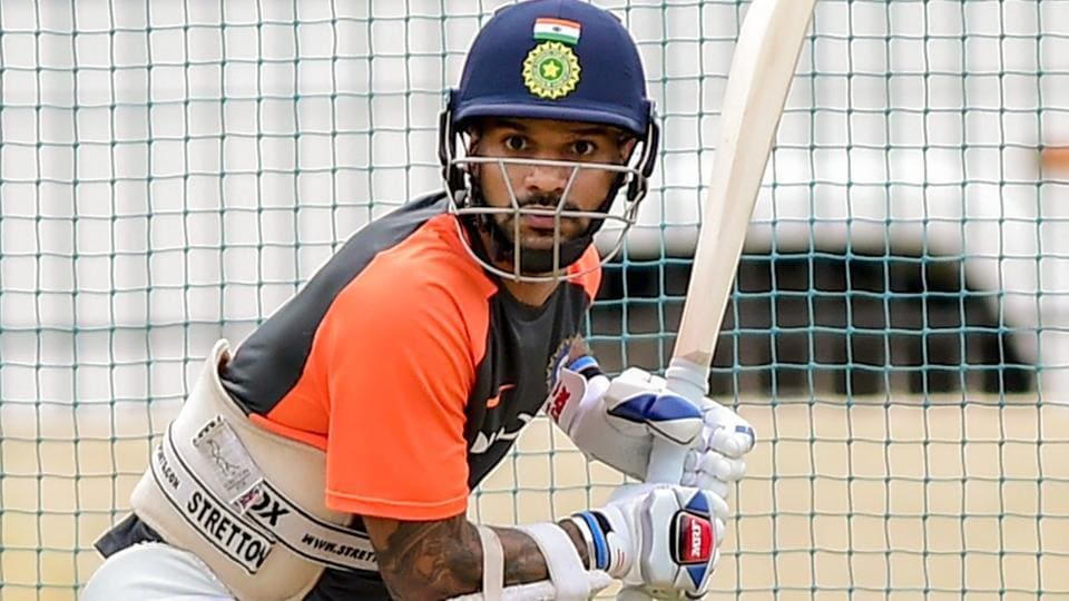 1st session belongs to India -- thanks to Dhawan