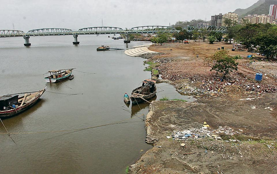 The waterfront at Retibunder in Mumbra where work is likely to be completed by December.