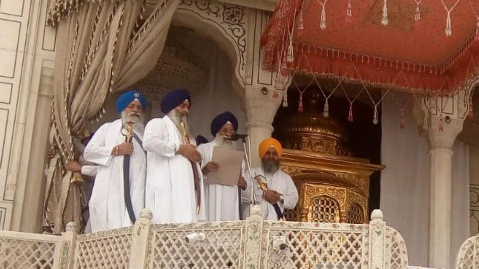 Akal Takht,Sikhs,Amritsar