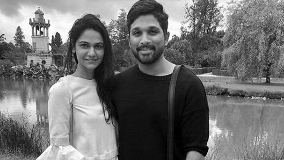 Allu Arjun,Allu Arjun vacation,Allu arjun vacation pics