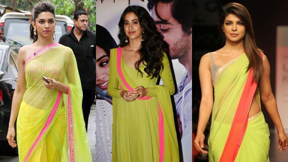 Priyanka Chopra,Deepika Padukone,Janhvi Kapoor