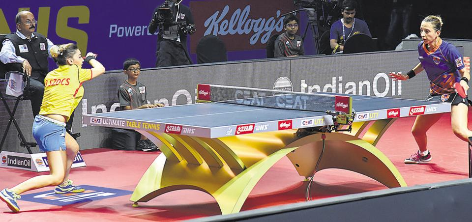 Pune,Ultimate Table Tennis,Falcons'