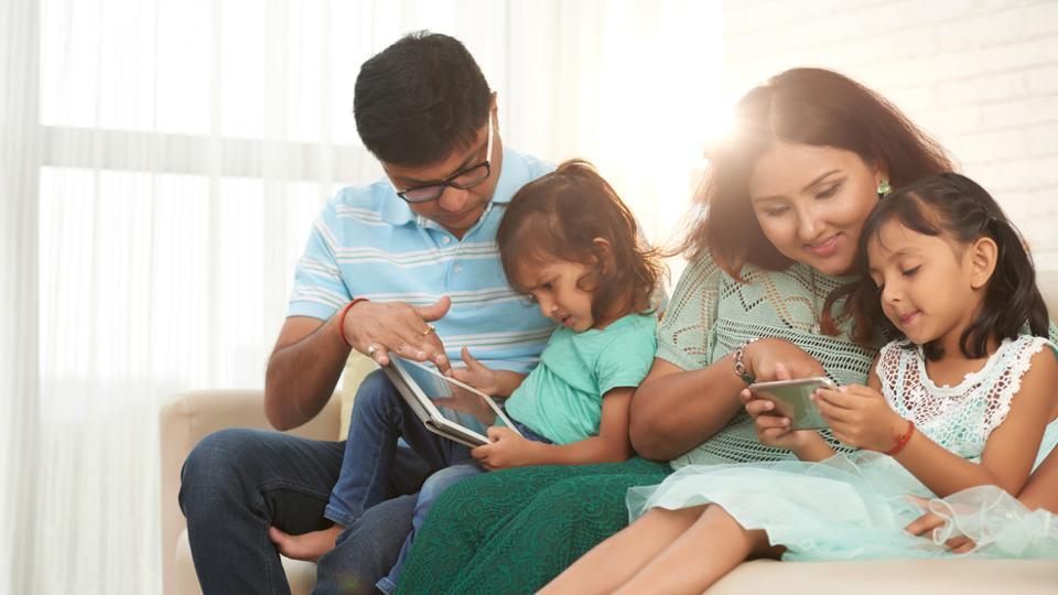 Parents,Smartphone,Smartphone Addiction